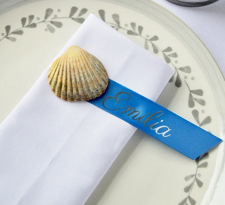 Custom Printed Holiday Place Setting