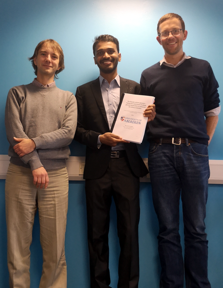 (Dr) Manu  gets his PhD