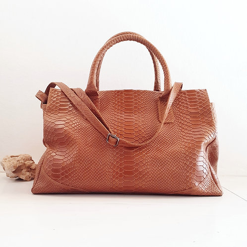 SNAKE BIG leather