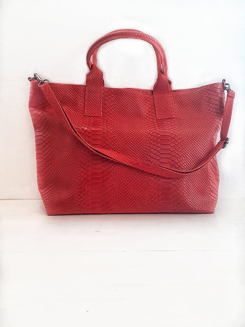 TOTE snake red