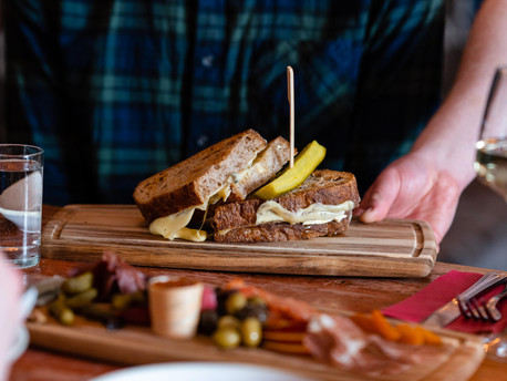 The Grilled Olive Sandwich