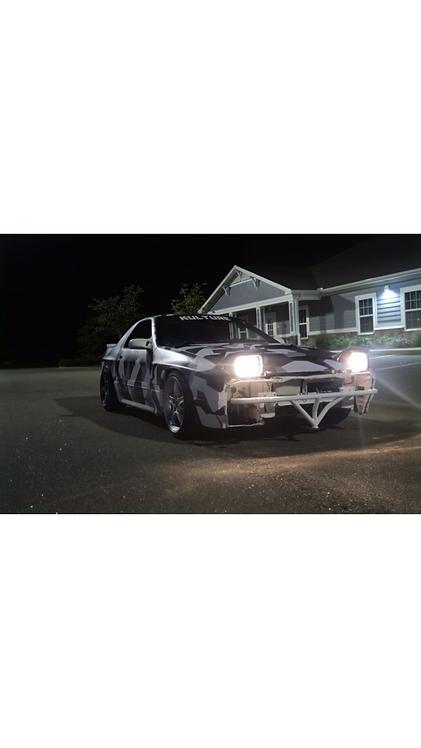 Mazda RX-7 FC Front Bash Bar