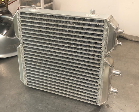 Universal Dual Cooler - Single Pass - Oil/Power Steering Cooler