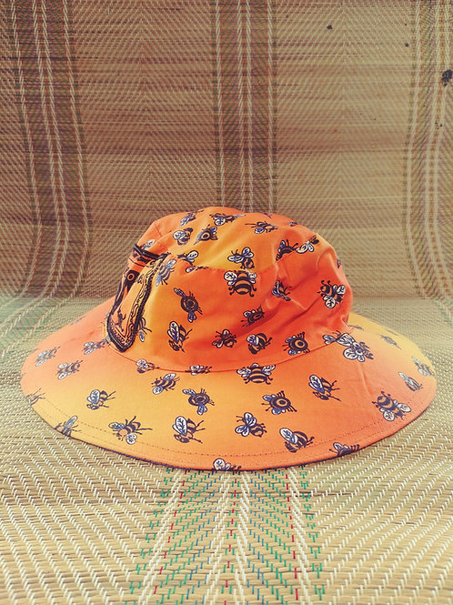 Busy Bees Reversible Hats
