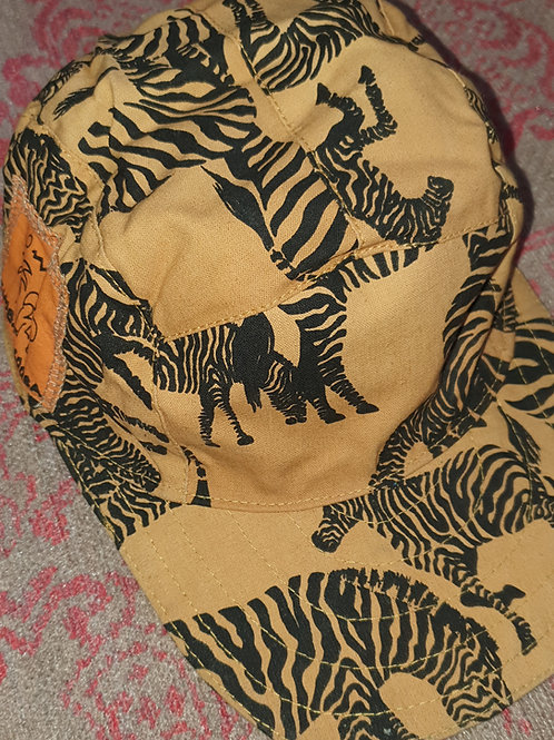 Reversible Caps - Zebras