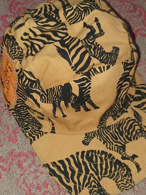Reversible Caps - Zebras