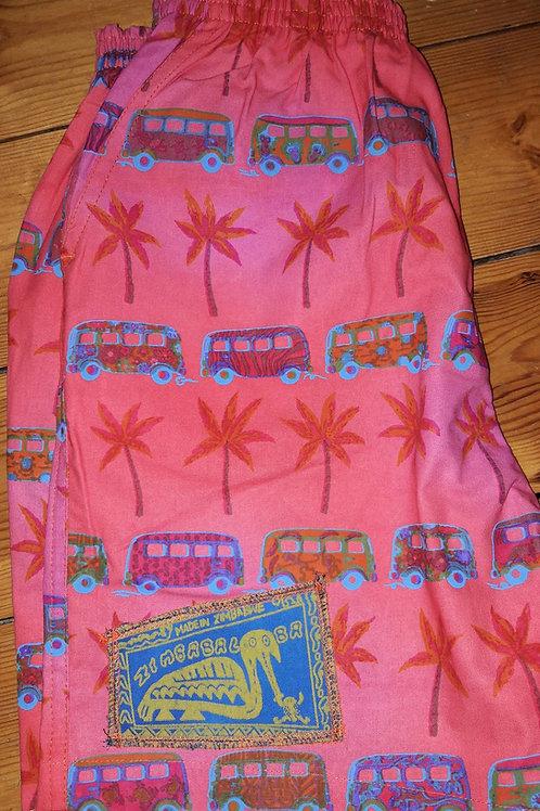 Kids Shorts/Baggies - African Bus