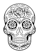 skull-coloring-for-adults-halloween-el-d