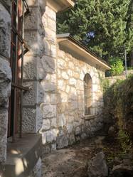 Служба в русской православной церкви в Хорватии.