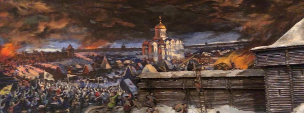 Нападение монгольских войск на Рязань (Старую)