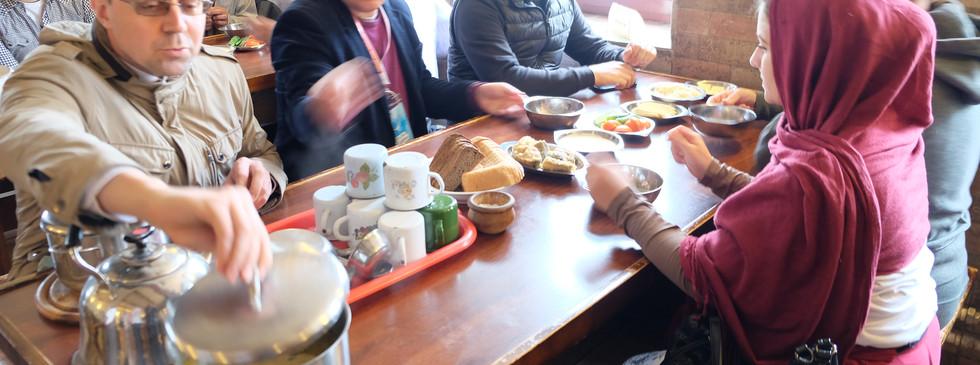 Обед в монастыре