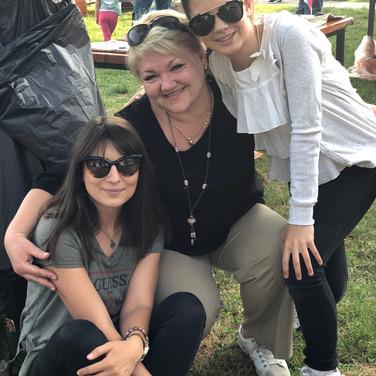 Наша дорогая гостья из Меджимурья Татьяна Миколай и члены Ассоциации молодёж