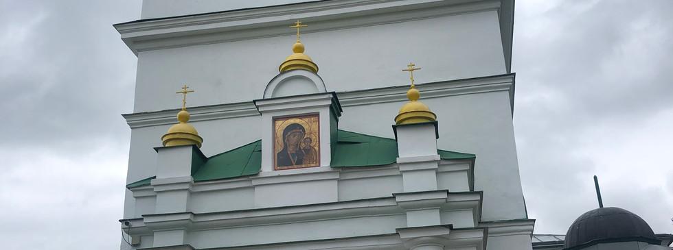 Церковь, где крестили поэта