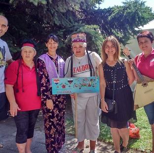 Совместное фото с коллегами из Турции.