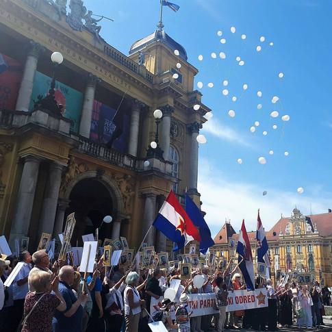 73 шарика - 73 года со дня Великой Победы