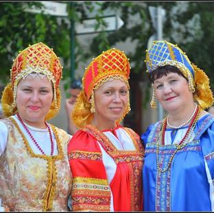 Русские красавицы в Венгрии.