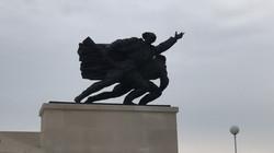 Часть мемориала в Батине