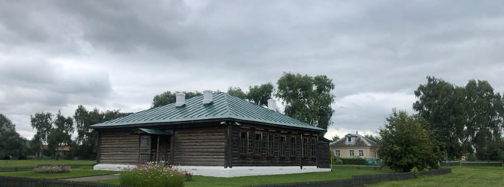 Школа, в которой учился С.А. Есенин