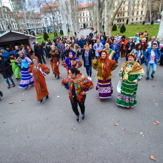 Масленица 2019. Парк Зриньевац.