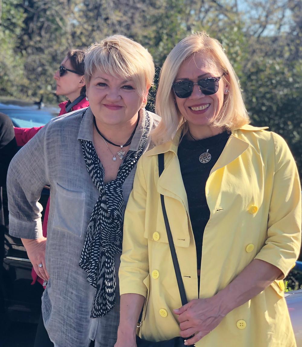 Светлана Маринов и Татьяна Миколай