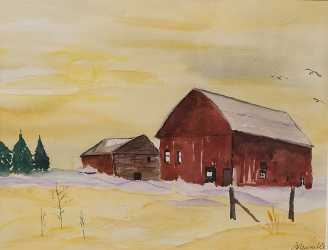J Newville Barn at Sunrise.jpg