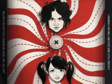 Killer new album artwork for The White Stripes by Will Mackey