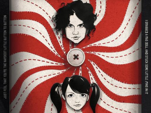 Killer new album artwork for The White Stripes by Will Mackey
