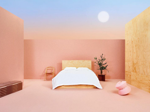 Will Anderson shoots Buffy bedding campaign