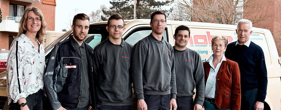 Das Team von Diete Hohe | Sanitär, Heizung Kundenservice - Gehrden