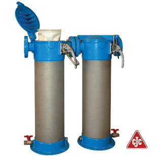 Redesign of water pre-filters for purifying sludge water from ships based on new EU requirements. Client: CC Jensen