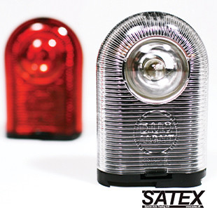 A portable battery bicycle light designed to meet the user demand for a pocket friendly lighting system. Client: Satex