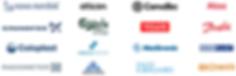 Novo Nordisk, Oticon, Convatec, Atos, Grundfos, Carlsberg Group, Velux, Danfoss, Coloplast, Abacus Medicine, Medtronic, Medi Plast, Radiometer, Andromeda, Dam Kærgaard, Bowa