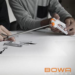 A single-use disposable ligator for standard minimally invasive laparoscopic procedures. Client: Bowa Medical