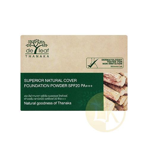 De leaf Thanaka Superior Natural Cover Foundation Powder SPF20