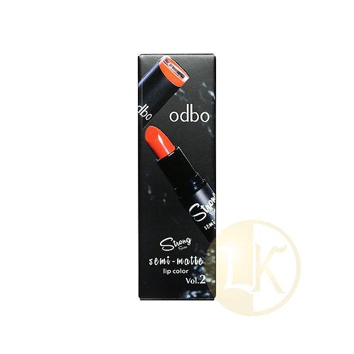 ODBO Strong serie semi matte Lip Color