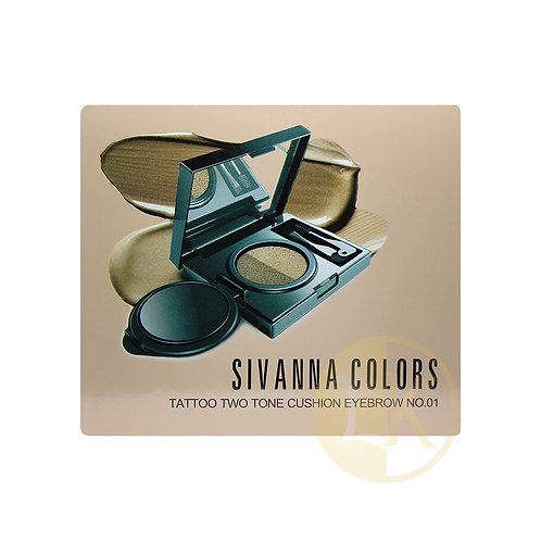 Sivanna Color Tattoo Two Tone Cushion Eyebrow