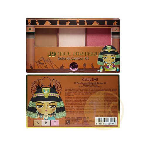 Cathy Doll 3D Face Nefertiti Forward Contour Kit