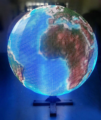 P10mm LED video ball display - Factory Direct - 1M