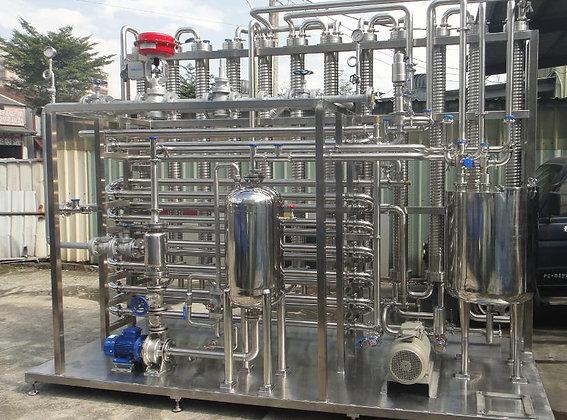 Y4013TT - Tubular Flash Pasteurizer - 3000L/Hour