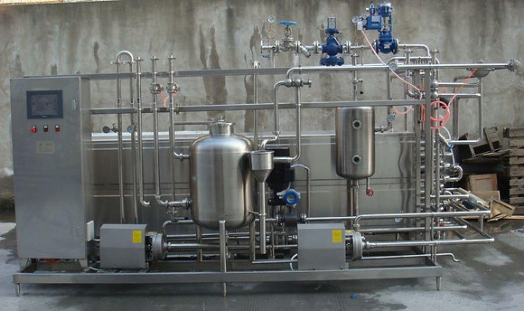 New Tubular Flash Pasteurizer - 3000L/Hour