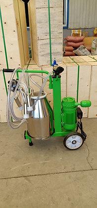 Oil-Free Electric Vacuum Pump Milking Machine