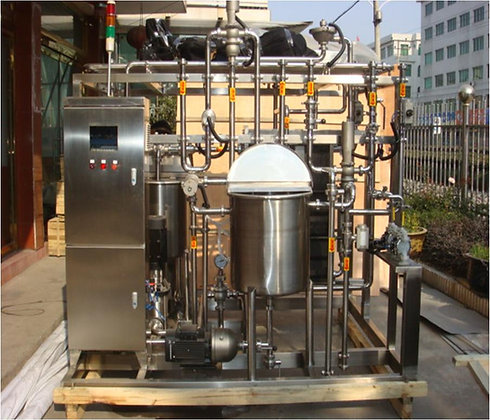 Automatic Plate Flash Pasteurizer - 1000L/Hour