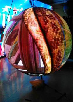 LED Video Ball