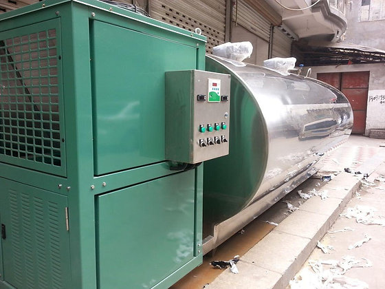 Brand New 12000L Horizontal Cooling Tank - FDA 3A