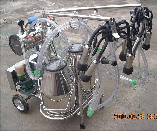 Double Tank Vacuum Pump Milking Machine