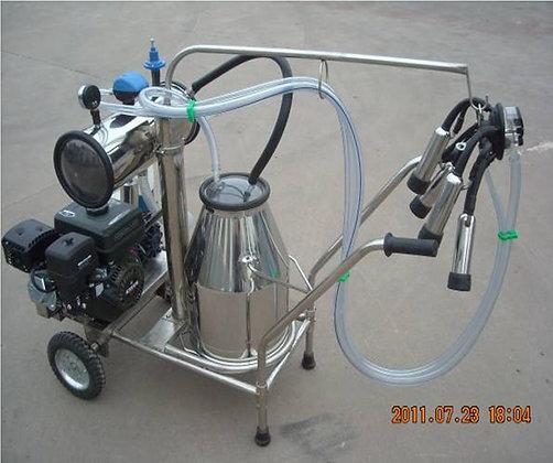 Gasoline Vacuum Pump Milker - Single Tank