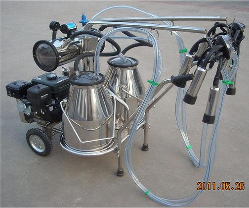 Double Tank Gasoline Vacuum Pump Milker