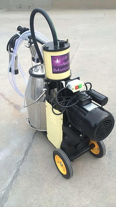 Electric Piston Milking Machine for Cows Single
