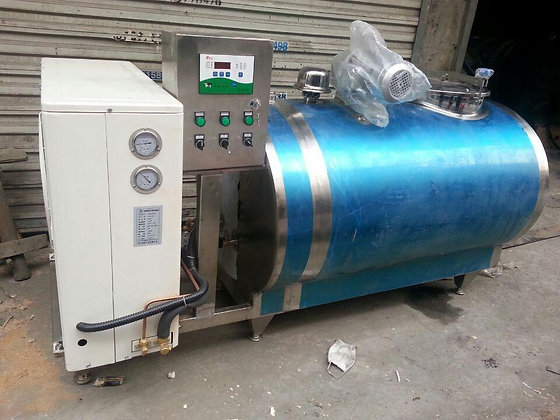 Brand New 5000L Horizontal Cooling Tank - FDA 3A