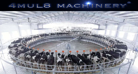 80 cows Rotary Milking Parlor
